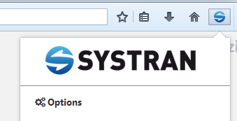activate systran extension mozilla