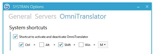 omnitranslator d'options