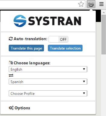 Systran extension10