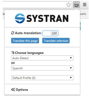 systran extension5